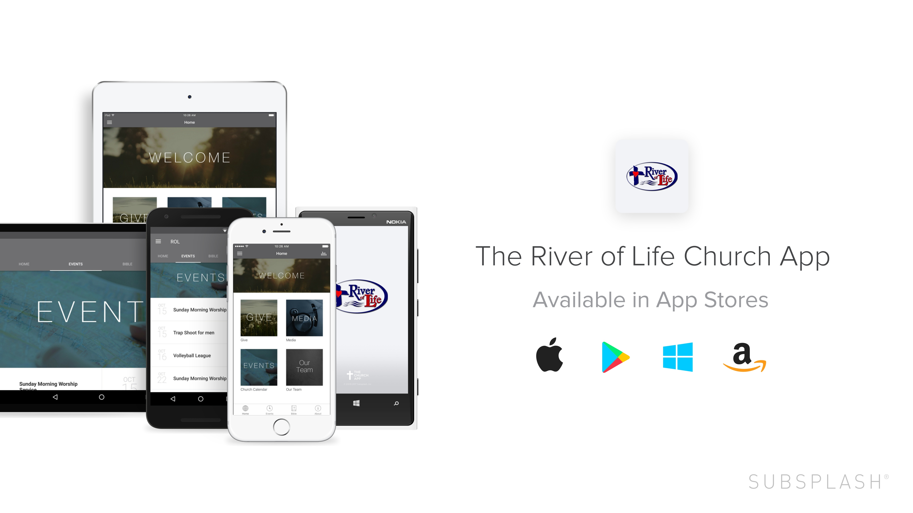 Get The River of Life Church App